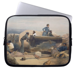 A Quiet Day in the Diamond Battery, plate from 'Th Laptop Sleeve