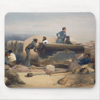 A Quiet Day in the Diamond Battery, plate from 'Th Mouse Pad