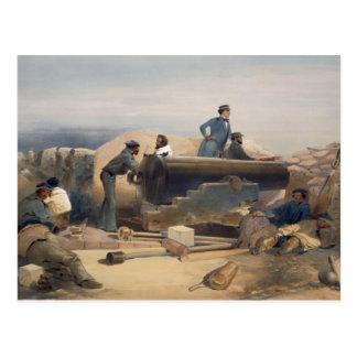 A Quiet Day in the Diamond Battery, plate from 'Th Postcard