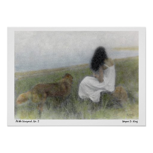 A Quiet Moment At the Vineyard, Poster