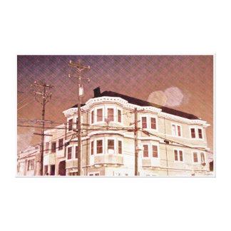 A quiet night in San Francisco - Potrero Canvas Print