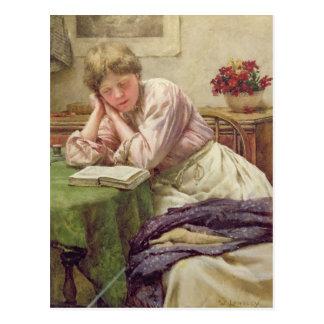A Quiet Read Postcard