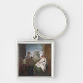 A Quiet Time, c.1810 (oil on canvas) Key Chains