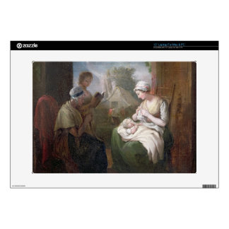 A Quiet Time, c.1810 (oil on canvas) Laptop Skins