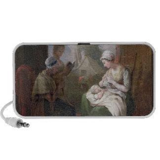 A Quiet Time, c.1810 (oil on canvas) Mini Speaker