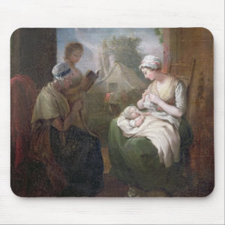 A Quiet Time, c.1810 (oil on canvas) Mouse Pad