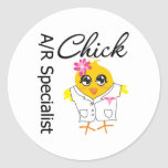 A/R Specialist Chick Stickers