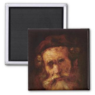 A Rabbi 2 Inch Square Magnet
