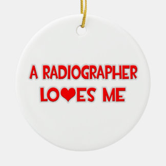 A Radiographer Loves Me Ornament