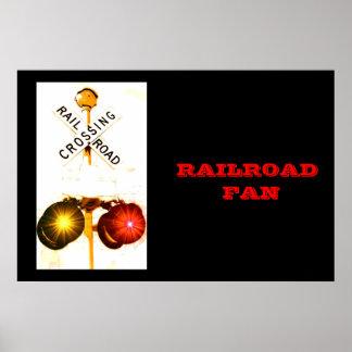 A Railroad Fan Print