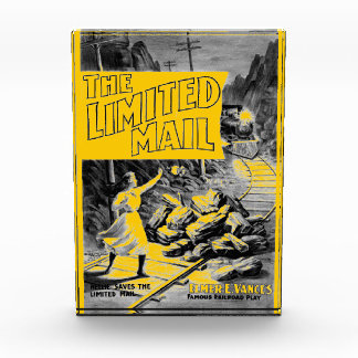 A Railroad Play -The Limited Mail 1899 Acrylic Award