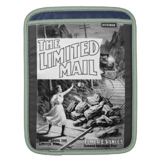 A Railroad Play-The Limited Mail 1899 Sleeve For iPads