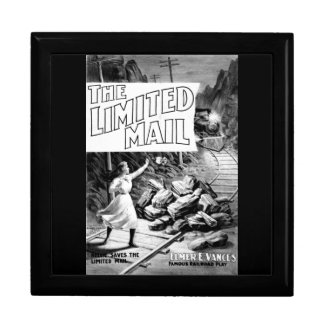 A Railroad Play -The Limited Mail 1899 Keepsake Boxes