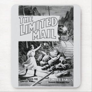 A Railroad Play-The Limited Mail 1899 Mouse Pad