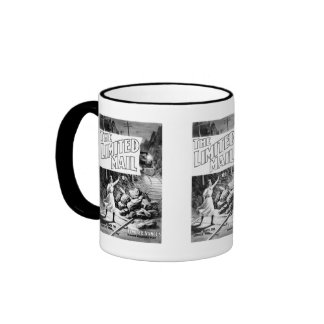 A Railroad Play -The Limited Mail 1899 Ringer Coffee Mug