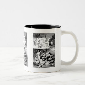 A Railroad Play -The Limited Mail 1899 Two-Tone Coffee Mug