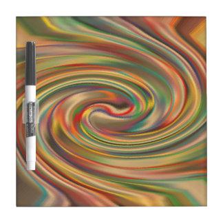 A Rainbow Dust Storm Dry Erase Board