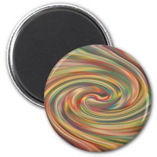 A Rainbow Dust Storm Magnet