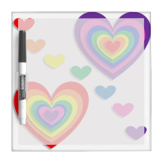 A Rainbow For My Valentine Dry Erase Boards