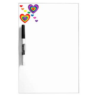 A Rainbow For My Valentine Dry-Erase Whiteboards