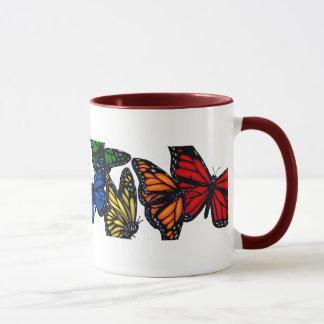 A Rainbow Of Butterflies Mug