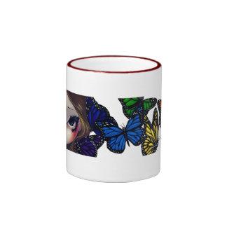 A Rainbow Of Butterflies Mugs