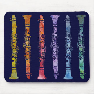A Rainbow of Clarinets Mouse Pad