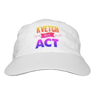 A rainbow of kvetch in this hat