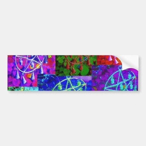 A Rainbow of My Abundance by JudyMarisa Bumper Stickers