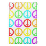 A Rainbow Of Peace Signs Case For The iPad Mini