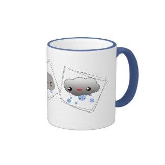 A rainy day... coffee mug