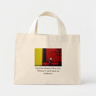 A Rainy Day Mini Tote Bag