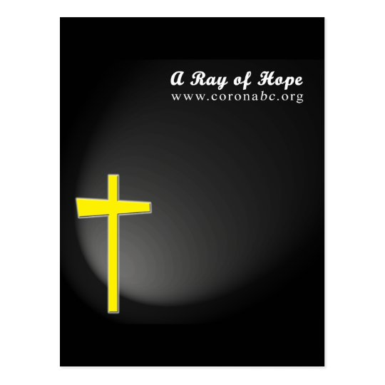 A Ray of Hope Postcard