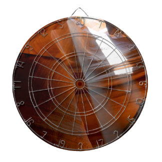 A Ray of Life Dartboard With Darts