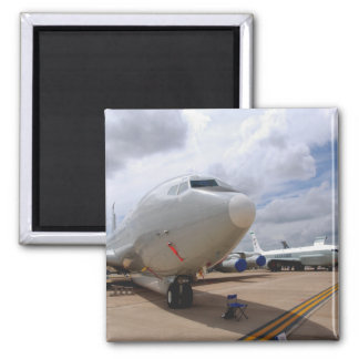 A RC-135V/W Rivet Joint aircraft 2 Inch Square Magnet