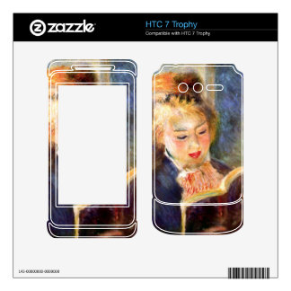 A reading girl1 by Pierre Renoir Decal For HTC 7 Trophy
