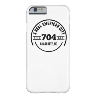 A Real American City Charlotte NC Barely There iPhone 6 Case