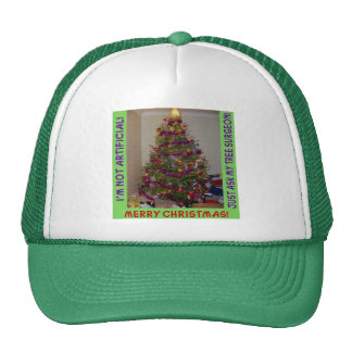 A Real Christmas Tree Trucker Hat