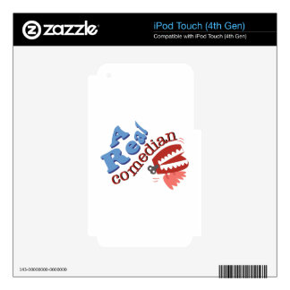 A Real Comedian Decals For iPod Touch 4G