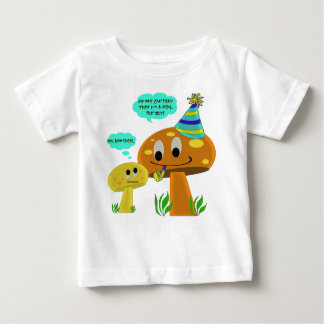 A Real Fun-Guy Mushroom Cartoon T Shirts