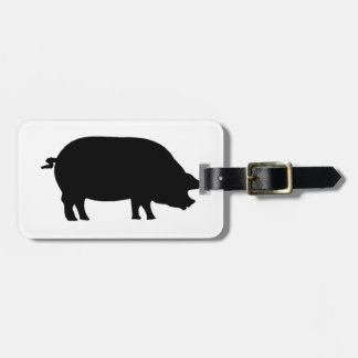 A real ham tag for bags