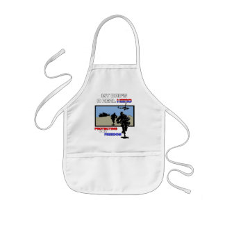A Real Hero - Military Kids' Apron
