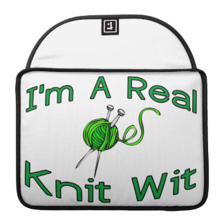 A Real Knit Wit Sleeve For MacBooks