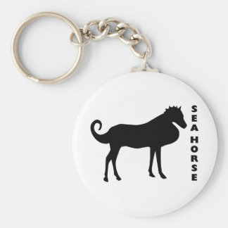 A Real Life Sea Horse Keychain