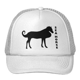 A Real Life Sea Horse Trucker Hat