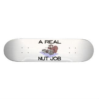 A Real Nut Job Squirrel Skateboard Deck