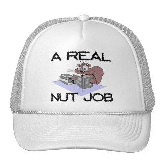 A Real Nut Job Squirrel Trucker Hat