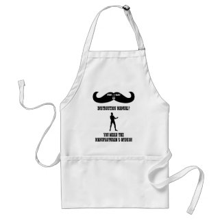 A Real Overly Manly Man - Instruction Manual? Adult Apron