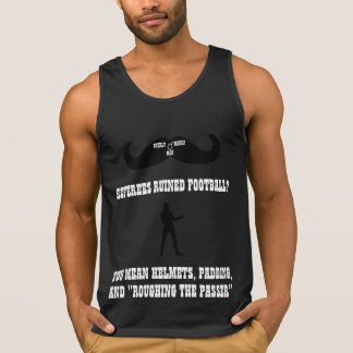 A Real Overly Manly Man - Referees Ruined Football Tanktop