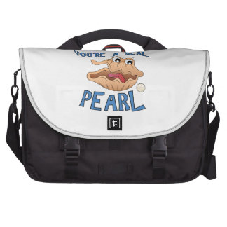 A Real Pearl Laptop Bag